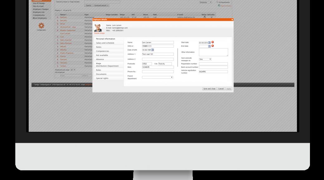 personeelsplanning software
